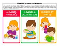 Boite de jeux-Alimentation