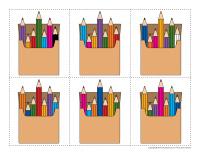 Boites de crayons de couleur