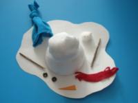 Bonhomme de neige fondu-1