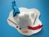 Bonhomme de neige fondu-4