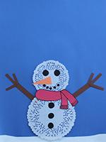 Bonhomme neige napperons-05