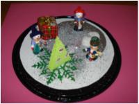 Boule neigeuse de Noël-8