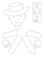 Bricolage-Marionnette articulée