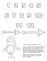 Bricolage horloge Noël
