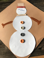 Bricolage simple-je suis un bonhomme de neige-3