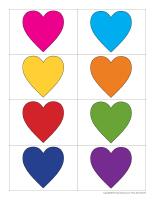 Cœurs de couleur