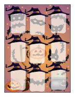 Cadre groupe-La grande mascarade