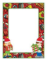 Cadre photo-Journée thématique-Noël-Le partage