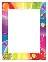 Cadre photos-Journée thématique-Multicolore