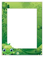 Cadre photos-Journée thématique-Tout en vert