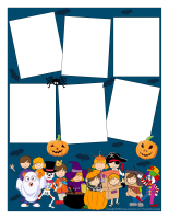 Cadres photos-Personnages Halloween-2