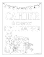 Cahier à colorier-Halloween-2018