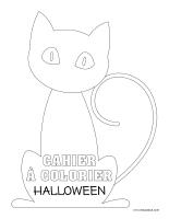 Cahier à colorier-Halloween 2019