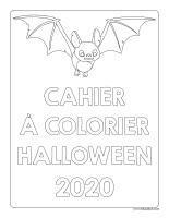 Cahier à colorier-Halloween 2020