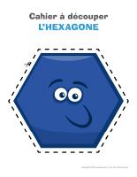 Cahier à découper-Hexagone