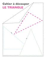Cahier à découper-Le triangle-1
