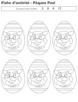 Cahier d'activités - Pâques - Poni et les Bongabongs