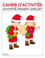 Cahier d'activités-Activité-projet-juillet-1