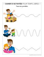 Cahier d'activités des temps libres-Fête des Pères-2020-2