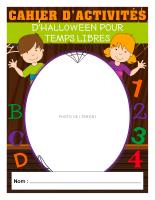 Cahier d'activités des temps libres-Halloween 2019-1