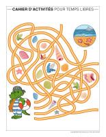 Cahier d'activités pour temps libres-Vacances d'été-2