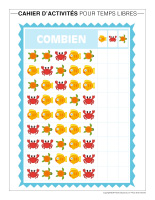Cahier d'activités pour temps libres-Vacances d'été-3
