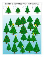 Cahier d'activités pour temps libres-Vacances de Noel-2