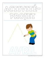 Cahier d'écriture-Activité projet-avril-1