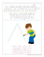 Cahier d'écriture-Activité-projet-mai-1