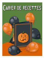 Cahier de recette-halloween
