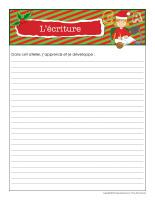 Cahier de suivi-Noël-Ateliers créatifs