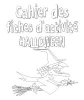 Cahier des fiches d'activités - d'Halloween