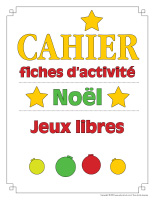 Cahier fiche d'activité-Noël-Jeux libres-1