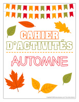 Cahier fiches d'activité-Automne-1