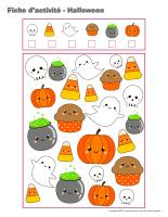 Cahier fiches d'activité-Halloween 2019-2