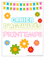 Cahier fiches d'activité-Printemps-1
