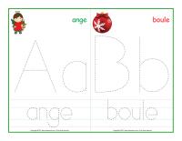 Cahier fiches d'écriture miniature-Mots de Noël