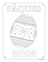 Cahier-images à colorier-Pâques 2018