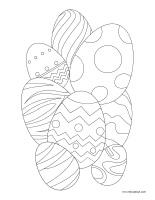 Cahier images à colorier-Pâques-2020