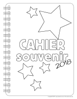Cahier souvenir 2018