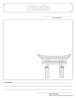 Cahier souvenir-L'Asie