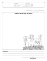 Cahier souvenir-La ville