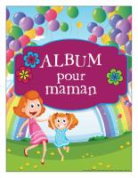 Cahier souvenir-Ma maman