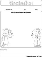 Cahiers souvenirs-Graduation
