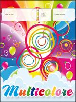 Calendrier perpétuel - Journée multicolore