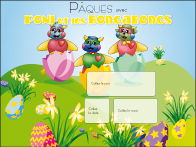 Calendrier perpétuel - Pâques avec Poni