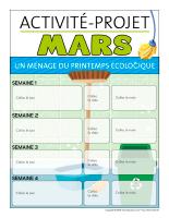 Calendrier perpétuel-Activité-projet-mars-1