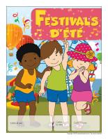 Calendrier perpétuel-Festivals d'été