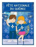 Calendrier perpétuel-Fête nationale du Québec