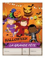 Calendrier perpétuel-Halloween-La grande fête
